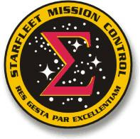 Logo Starfleet Mission Control visto in ENT:First Flight (2153)