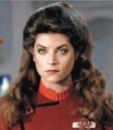 Saavik interpretata da Kirstie Alley